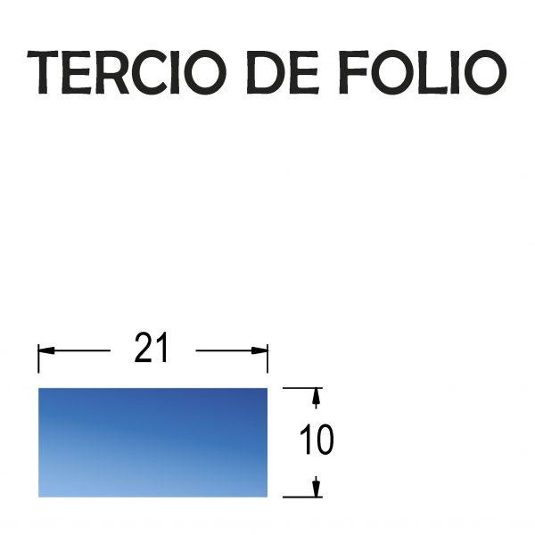 Talonario tercio de folio (50 hojas + copias)
