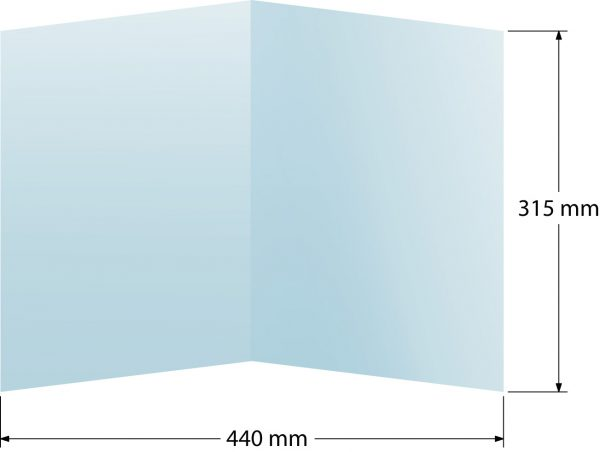 Carpeta 315x220 (Tamaño plegado)